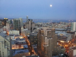 San Fran at night
